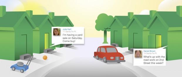 Het maken van een melding in Nextdoor