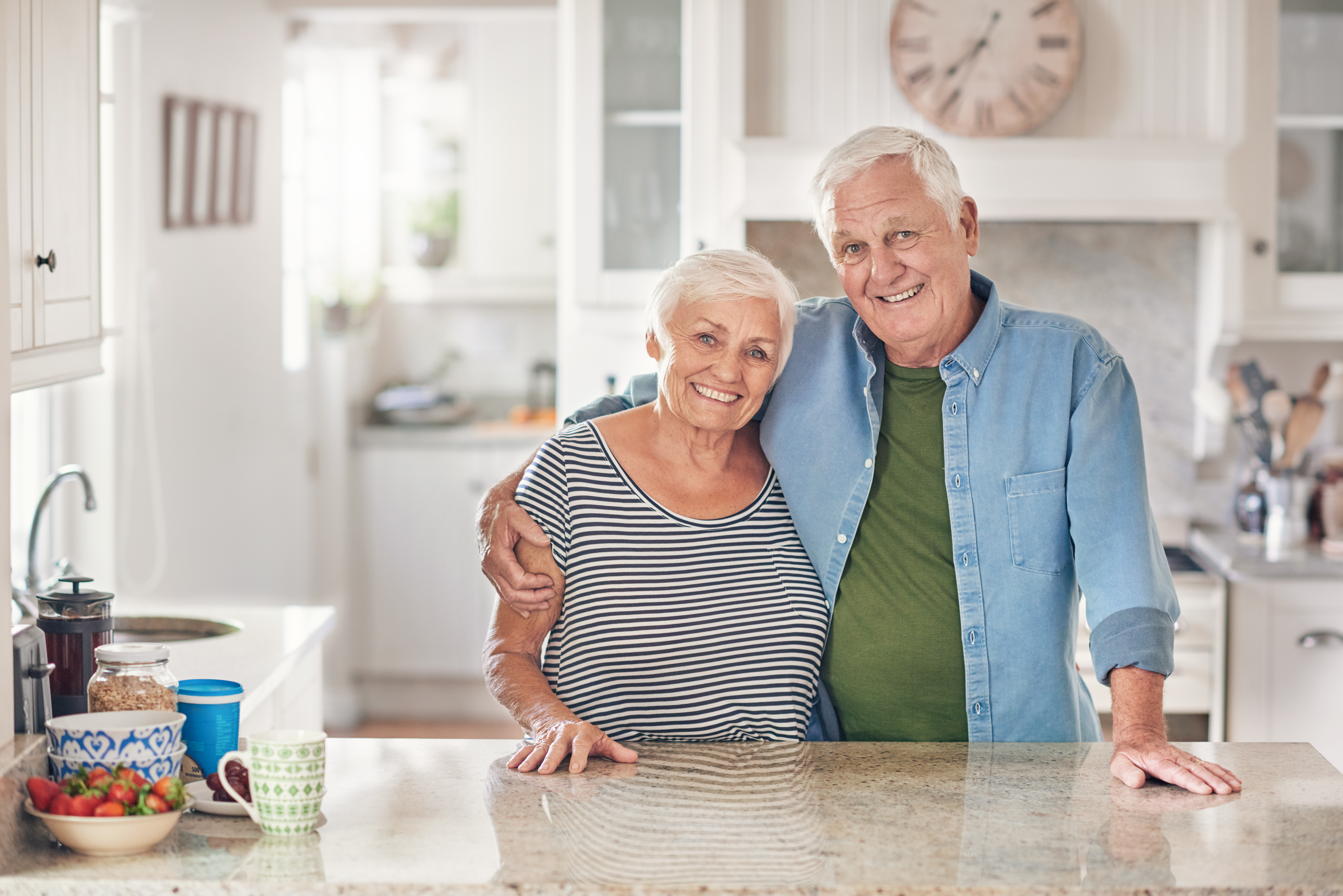 Veilig wonen op oudere leeftijd