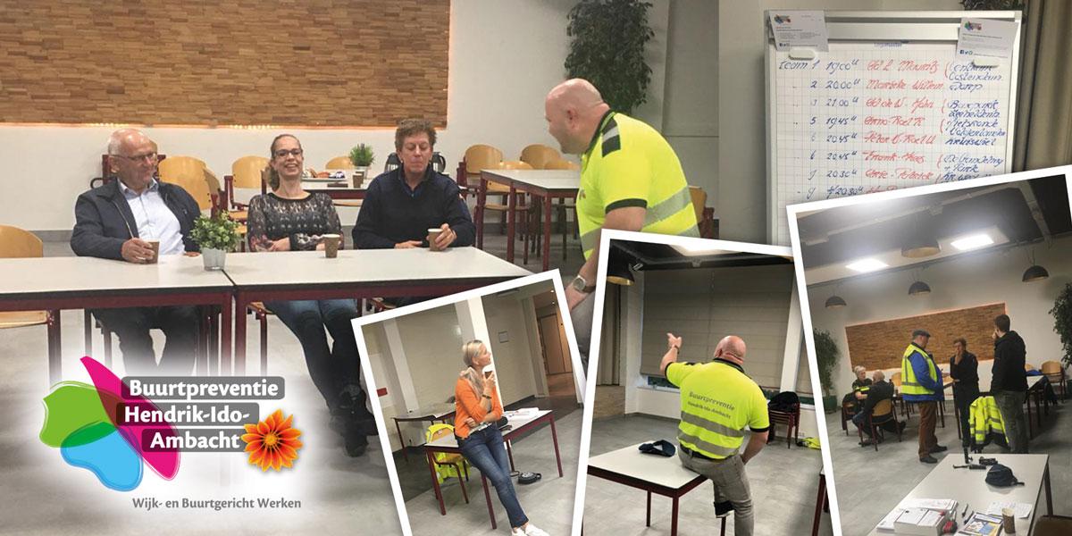 Zeer effectief en gezellig! Word nu vrijwilliger bij Buurtpreventie  Hendrik-Ido-Ambacht!